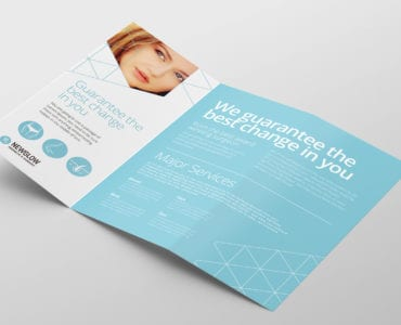 Cosmetic Surgery Tri-Fold Brochure Template