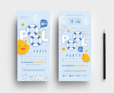 DL Pool Party Rack Card Template v2