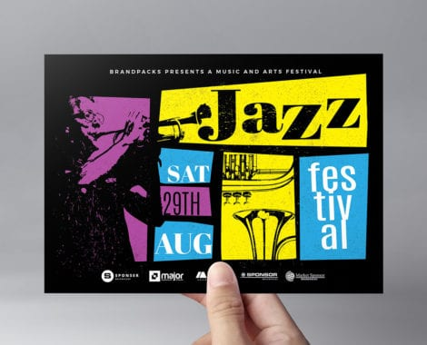 Jazz Night Flyer Template