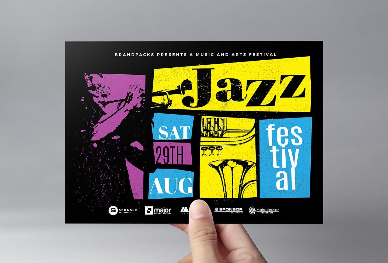 Jazz Night Flyer Template
