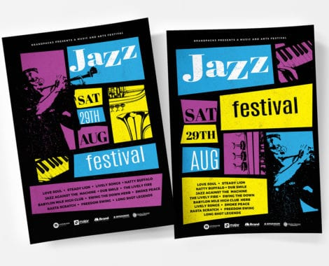 Jazz Night Poster Templates