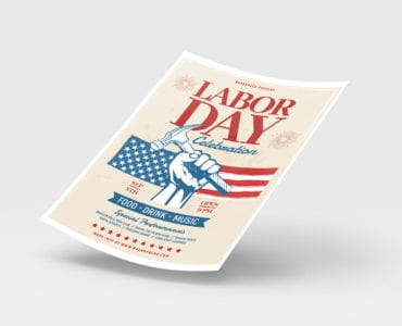 Labor Day Poster Template