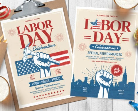 Labor Day Poster Templates