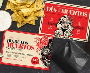Dia De Los Muertos Flyer Templates