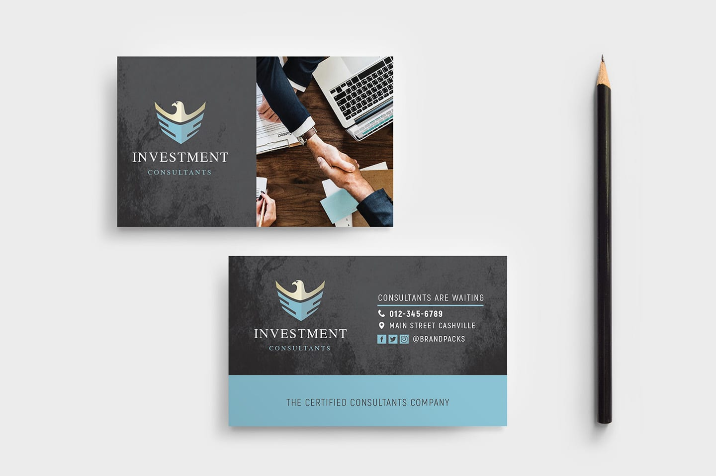 Investment Consultant Flyer Template