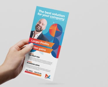 Modern Corporate DL Card Template