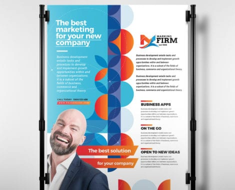 Modern Corporate Poster Template