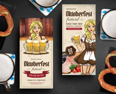 Oktoberfest DL Card Template