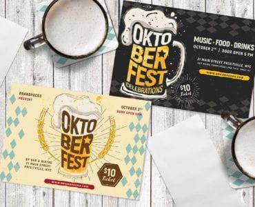 Oktoberfest Flyer Templates