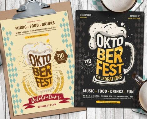 Oktoberfest Poster Templates