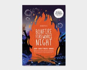 Bonfire Night Poster Template