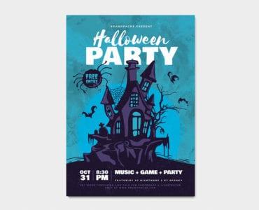Halloween Flyer / Poster Template