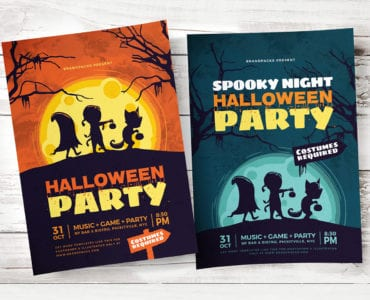 Halloween Flyer / Poster Templates