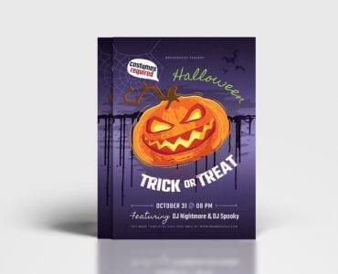 Halloween Poster Template V3