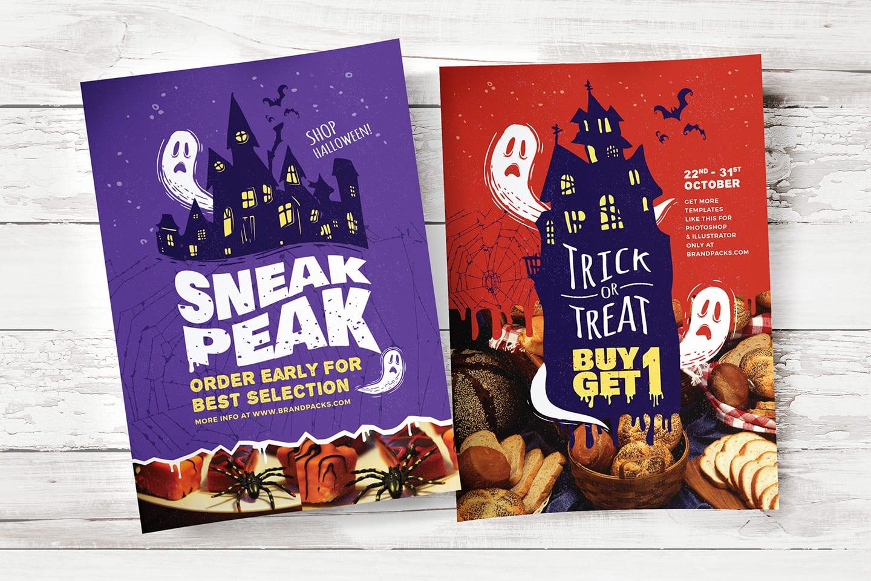 Halloween Poster Templates