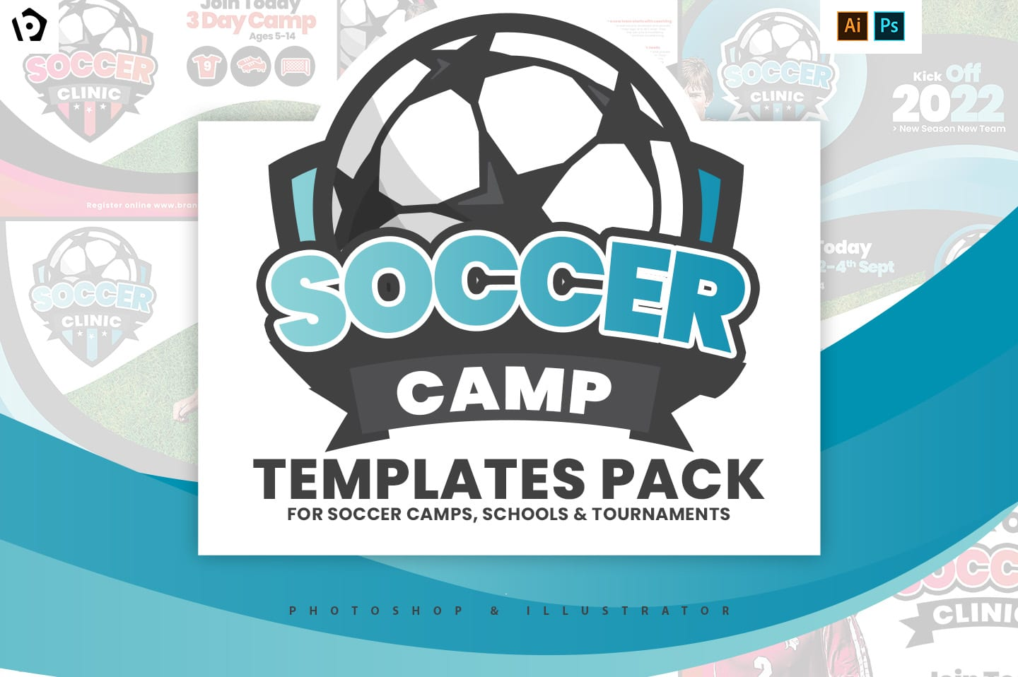 Soccer Camp Templates Pack