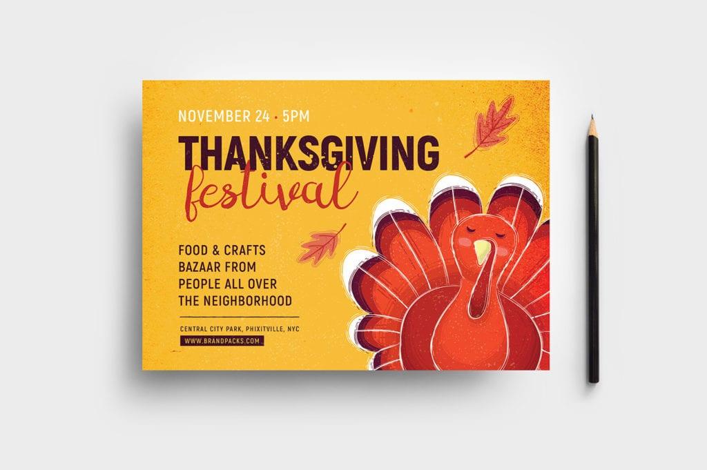 Thanksgiving Festival Flyer Template