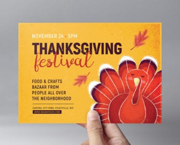 Thanksgiving Festival Flyer Template
