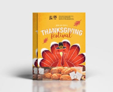Thanksgiving Festival Poster Template