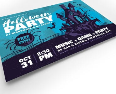 Halloween Flyer Template v2