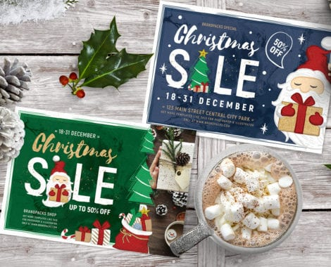 Christmas Sale Flyer Templates
