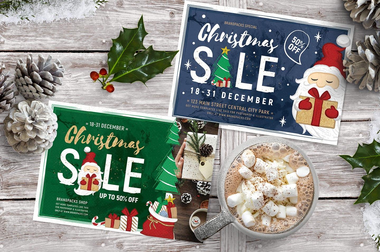 Christmas Sale Flyer Templates