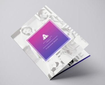 Modelling Agency Brochure Template