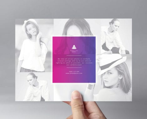 Modelling Agency Flyer Template