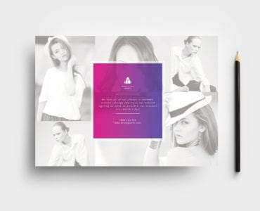 Modelling Agency Flyer Template