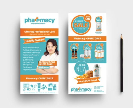 Pharmacy DL Card Template