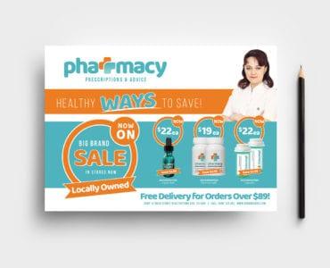 Pharmacy Flyer Template