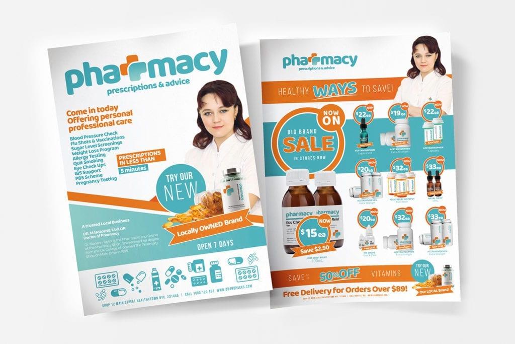 Pharmacy Poster / Flyer Templates