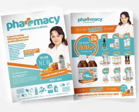 Pharmacy Poster / Flyer Templates