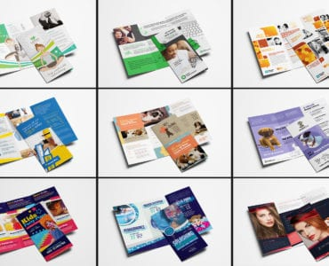 Trifold Brochure Templates Bundle - Previews 02