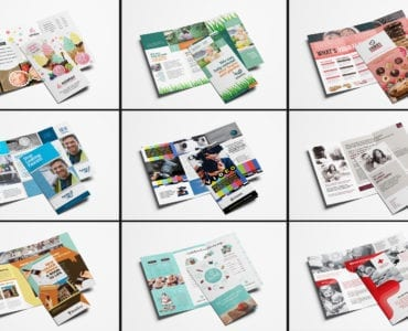 Trifold Brochure Templates Bundle - Previews 04