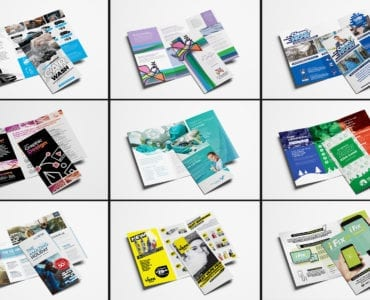 Trifold Brochure Templates Bundle - Previews 05