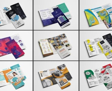 Trifold Brochure Templates Bundle - Previews 06
