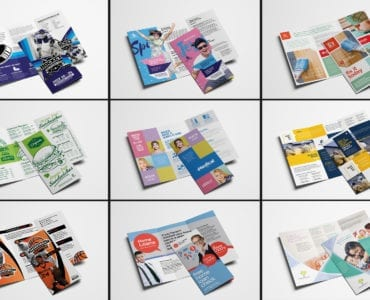 Trifold Brochure Templates Bundle - Previews 07