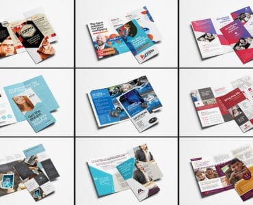 Trifold Brochure Templates Bundle - Previews 08