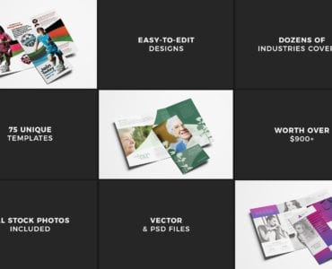 Trifold Brochure Templates Bundle - Previews 09