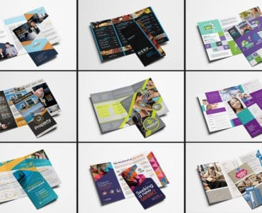 Trifold Brochure Templates Bundle - Previews 01