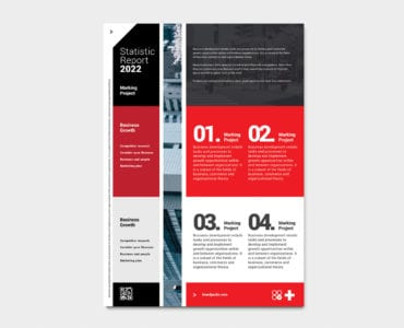 Swiss Style Poster / Flyer Template