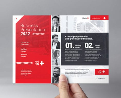 Swiss Style Flyer Template