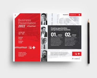 Swiss Style Flyer Template