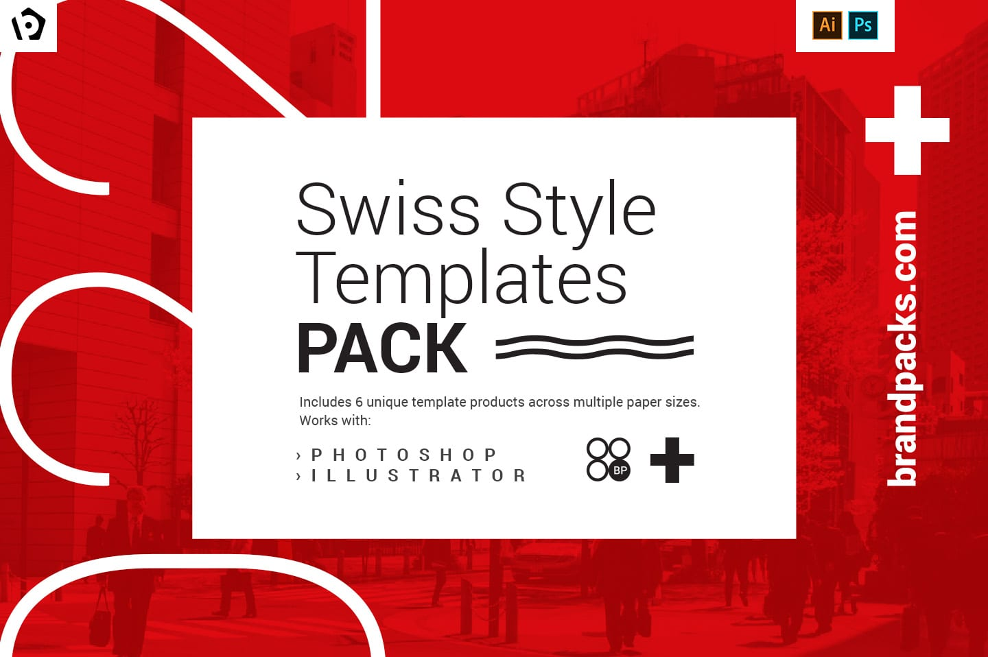 Swiss Style Templates Pack