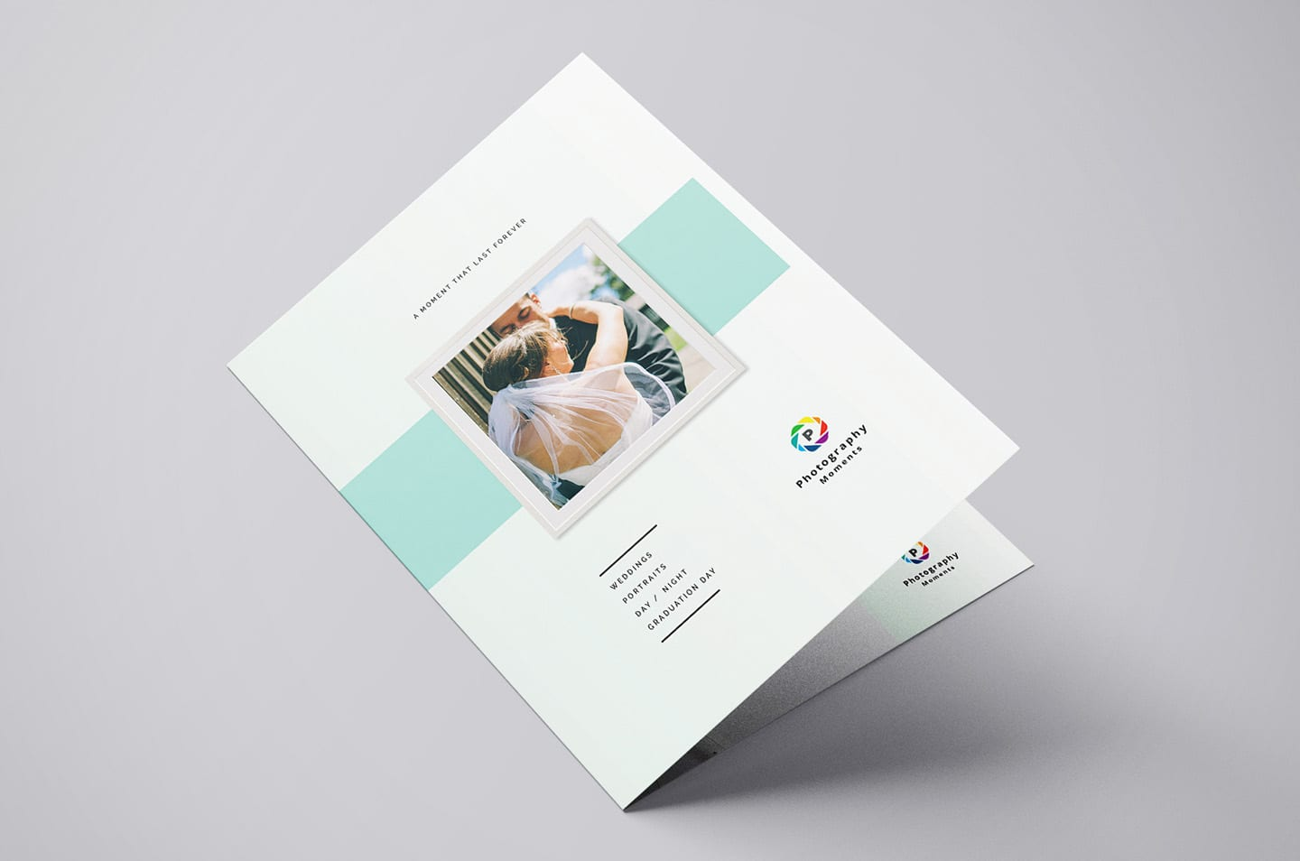 Wedding Photographer Brochure Template v2