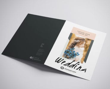 Wedding Photographer Brochure Template