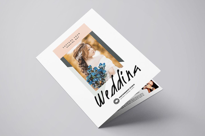Wedding Photographer Brochure Template