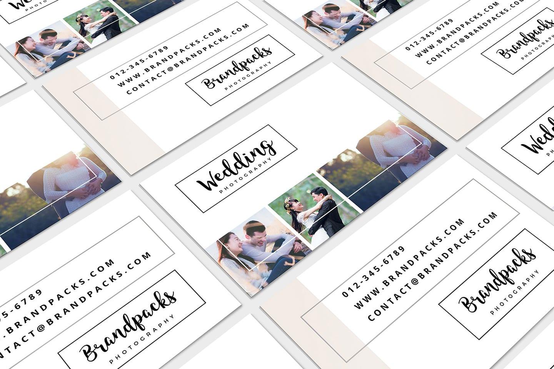 wedding photography business card template  psd ai