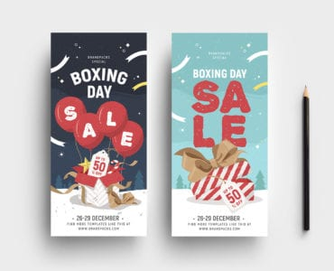 Boxing Day Sale DL Card Template v2